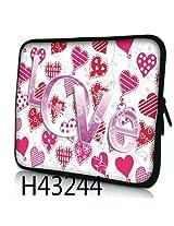 """Huado Pink Love 11"""" iPad Sleeve"""
