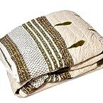 New Designer Sanganeri Print Single Bed Quilt Colorful Jaipuri Quilt SKU DLI3SRZ322