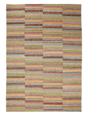 Flatweave Multi Stripe, 6' x 9'