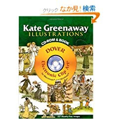 Kate Greenaway Illustrations CD-ROM and Book (Dover Electronic Clip Art)