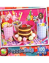 Puzzle Bug 100 Piece Puzzle ~ Party Sweets