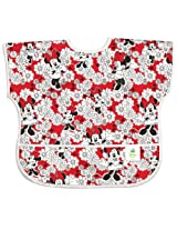Bumkins Disney Baby Waterproof Junior Bib, Minnie Red, 1-3 Years