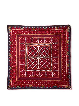 Sari Throw, Burgundy