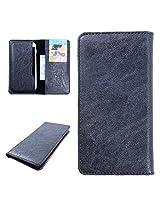 DooDa PU Leather Case Cover For Coolpad Dazen 1 (Black)