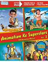 Animation Ke Superstars Vol:2 (3D Movies Bal Ganesh-2 /Bal Hanuman-2 /Pangaa Gang /Pandavas)