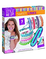 Style Me Up Sweet Links Bracelets Maker, Multi Color