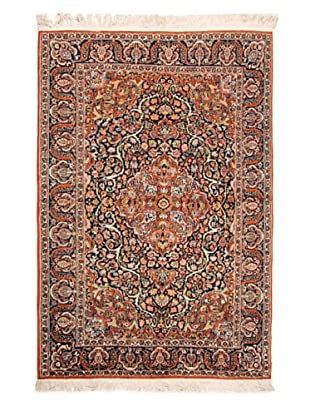 Roubini Fine Srinagar Silk Ground Rug, Multi, 6' 2