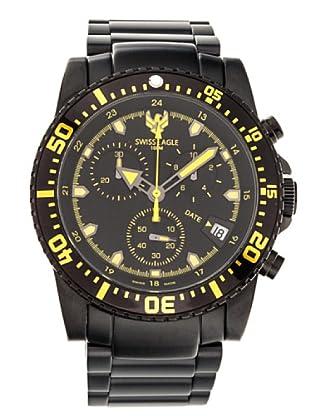 Swiss Eagle Reloj Dive Sea Ranger negro/amarillo