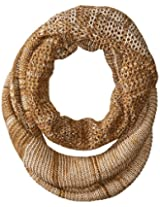 RAMPAGE Women's Marled Multi-Knit Infinity Loop Scarf