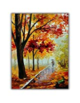 TIA Creation Romantick Love Canvas 0033 Print on Cotton Canvas 22inch x 31inch