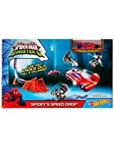 Hot Wheels Marvel Low Price Track Set Assortment, Multi Color