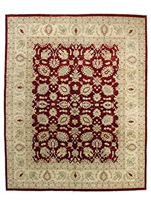 Bashian Rugs One-of-a-Kind Hand Knotted Mansehra Rug, Red, 8' 1