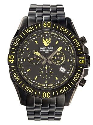 Swiss Eagle Reloj Fly Altitude negro
