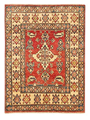eCarpet Gallery One-of-a-Kind Hand-Knotted Gazni Rug, Red, 3' 5
