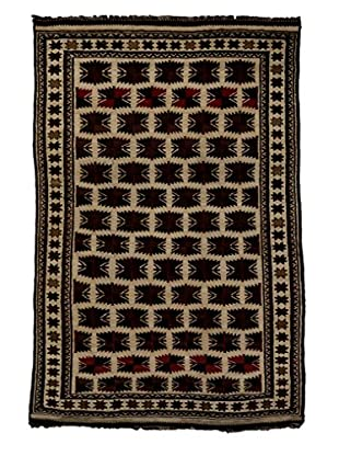 Darya Rugs Tribal One-of-a-Kind Rug, Navy, 8' 4