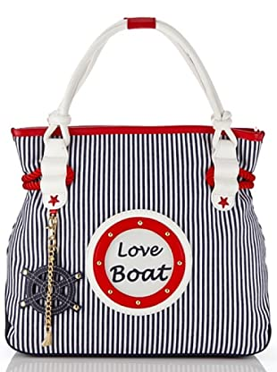 Tua By Braccialini Shopping Love Boat bianco/blu