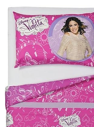 Disney Betttuch und Kissenbezug Violetta