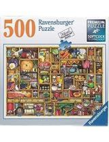 Ravensburger Kitchen Cupboard 500 Piece Premium Softclick Technology Jigsaw Puzzle