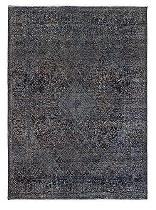 eCarpet Gallery Color Transition Rug, Dark Gray, 9' x 12'
