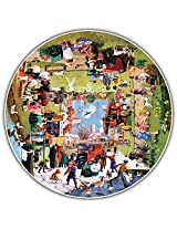 Round Table Puzzle - A Year at the Park (500 Piece)