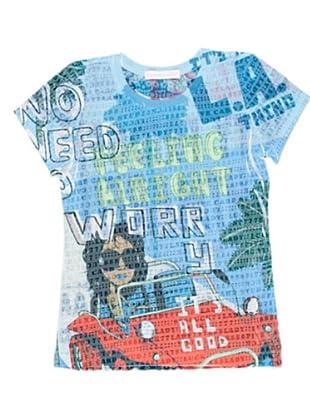 Custo Growing T-Shirt (Blau)