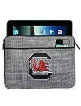 South Carolina Gamecocks IPAD SLEEVE or University of South Carolina TABLET Case Stylish Plaid