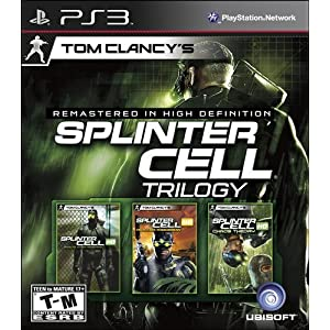 Tom Clancy's Splinter Cell Classic Trilogy-PS3