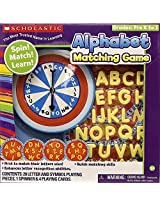 Scholastic Spinner Alphabet Matching Game