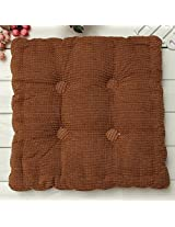 Soft Chunky Square Fiber Seat Cushion Thickened Home Sofa Office Chair Floor Pillow