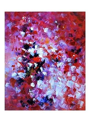LegendArte  Wandbild Farbenmenge 50x60 cm