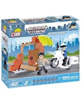 COBI Action Town Police Chase Building Kit
