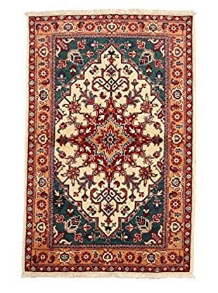 Darya Rugs Persian One-of-a-Kind Rug, Off-White, 3' 8