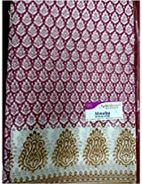 Cotton Finish Saree with Synthetic Blend - Designer Edition Saree/Sari DD 1200