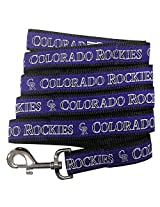 Pets First MLB Colorado Rockies Pet Leash, Large