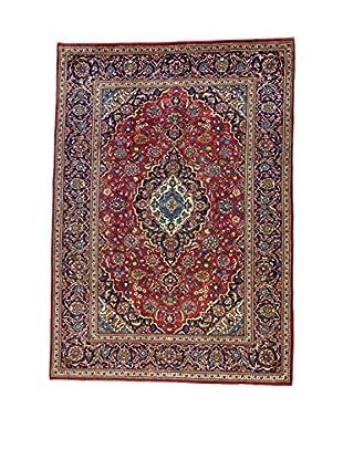 L'Eden del Tappeto Teppich M.Kashan rot/blau 292t x t206 cm