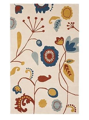 Soho Rugs Floral (Beige/Multi)
