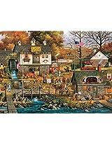 Buffalo Games Charles Wysocki: Olde Buck's County Jigsaw Puzzle (1000 Piece)