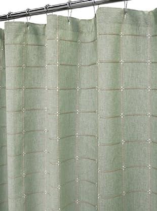 Park B. Smith Durham Square Shower Curtain (Dark Sage)
