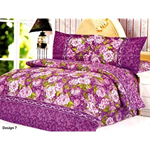 Trendz Double Bedsheet with 2 Pillow Covers