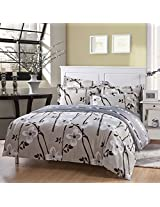 3 Or 4pcs Cotton Taffeta Legends Flower Reactive Printed Bedding Set