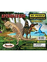 3-D Wooden Puzzle - Spinosaurus -Affordable Gift for your Little One! Item #DCHI-WPZ-J009