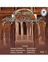 Chhota Khyaal (Set of 3 cd's)