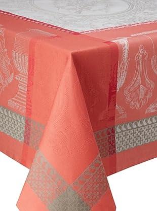 Garnier-Thiebaut Flanerie Tablecloth (Corail)