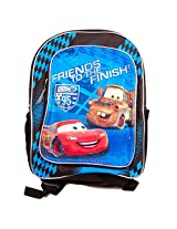 "Disney Cars Backpack (16"" Deluxe Backpack Featuring Lightning McQueen and Mater)"