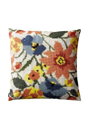 Kate Spade Saturday Photo Floral Canvas Envelope Pillow Cover