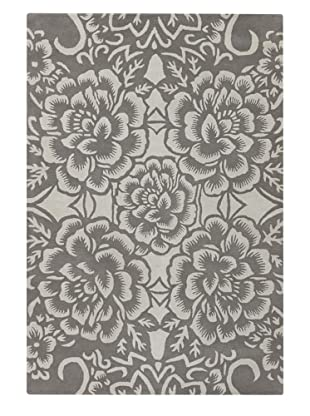 Chandra Counterfeit Studio Hand Tufted Wool Rug (Grey)