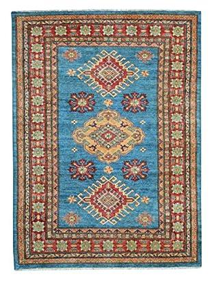 Kalaty One-of-a-Kind Kazak Rug, Blue, 4' x 6'