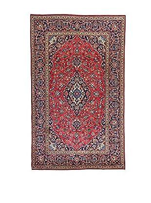 L'Eden del Tappeto Teppich M.Kashan rot/blau 318t x t200 cm