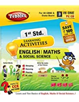 1st Std English, Maths & Social Science