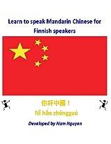 Learn to Speak Mandarin Chinese for Finnish Speakers
